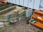 Deck building 43 -Work on the deck perimete ditch and fence -1 -small.JPG