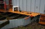 Deck building 44 -Decking in the rain -small.JPG