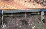 Deck building 42 -Digging holes to support the stair stringers -small.JPG