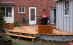 The steps are temporarily installed on the deck -small.JPG